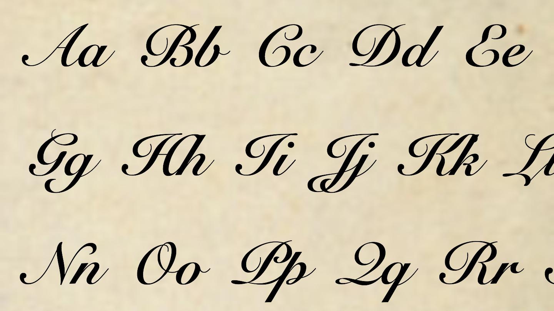 Driscoll Alphabet